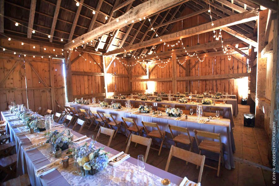 Rental Guidelines and Price List for Historic Barns of Nipmoose, John R. Andersen Photography