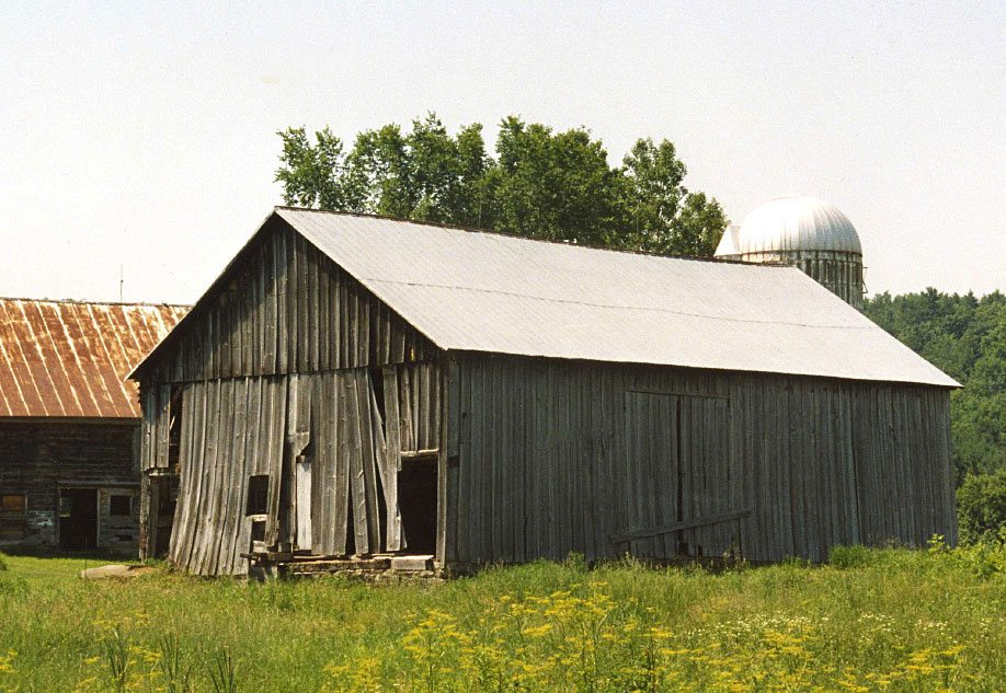 Before restoration, Scottish Barn, 2000, Photograph by Constance Kheel