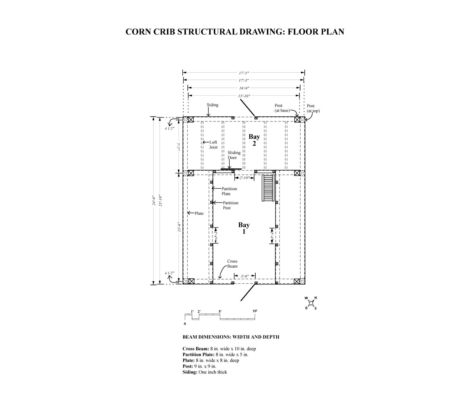 Scottish Barn Floor Plan