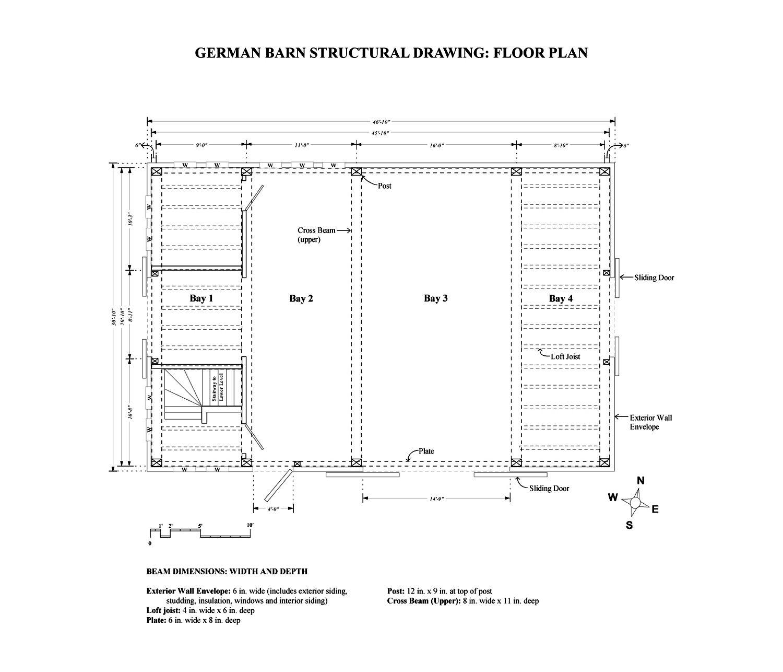 Scottish Barn Floor Plan