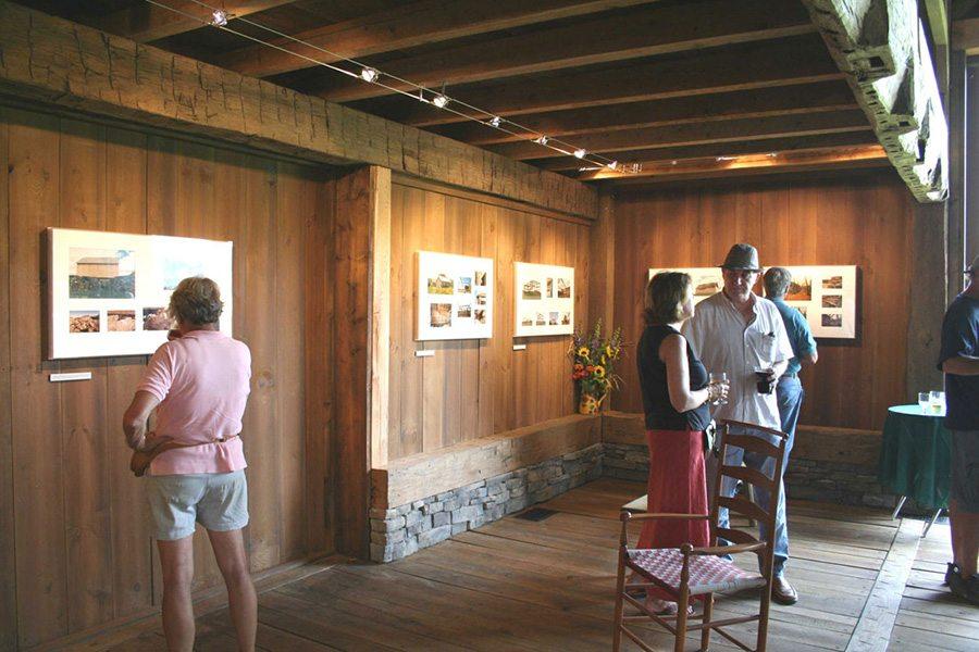 Exhibit at Historic Barns of Nipmoose, Photograph courtesy ASA