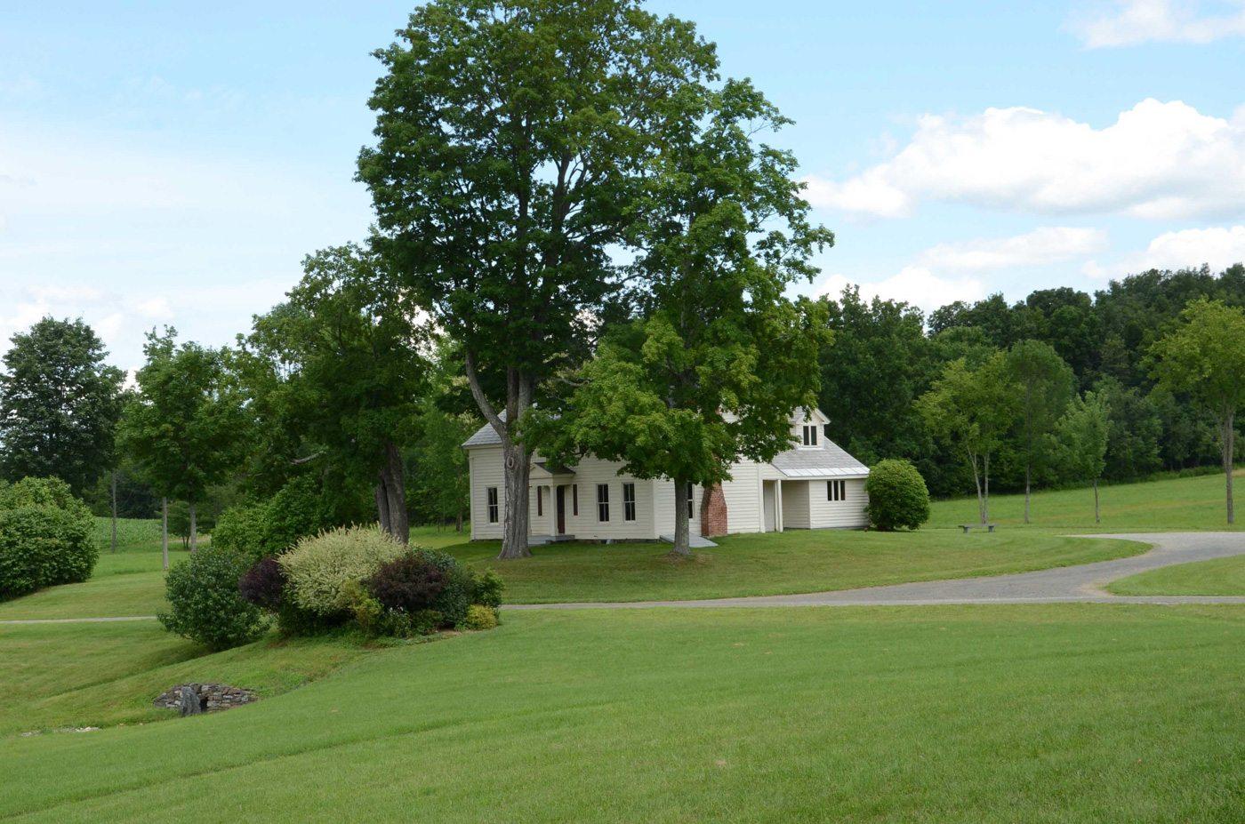 Farmhouse at Historic Barns of Nipmoose, 2012, Photograph by Con