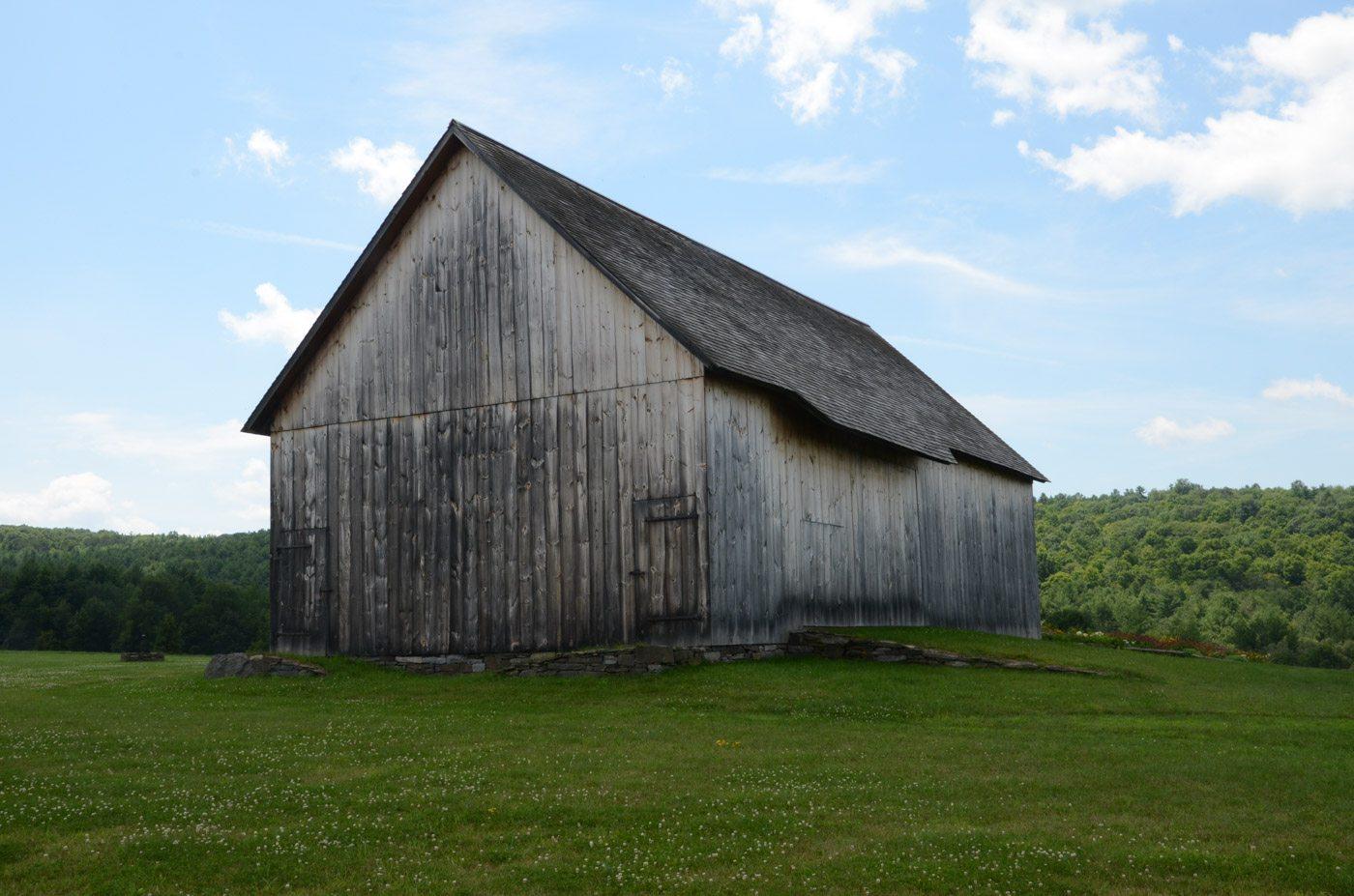 Scottish Barn at Historic Barns of Nipmoose, Photograph by Constance Kheel