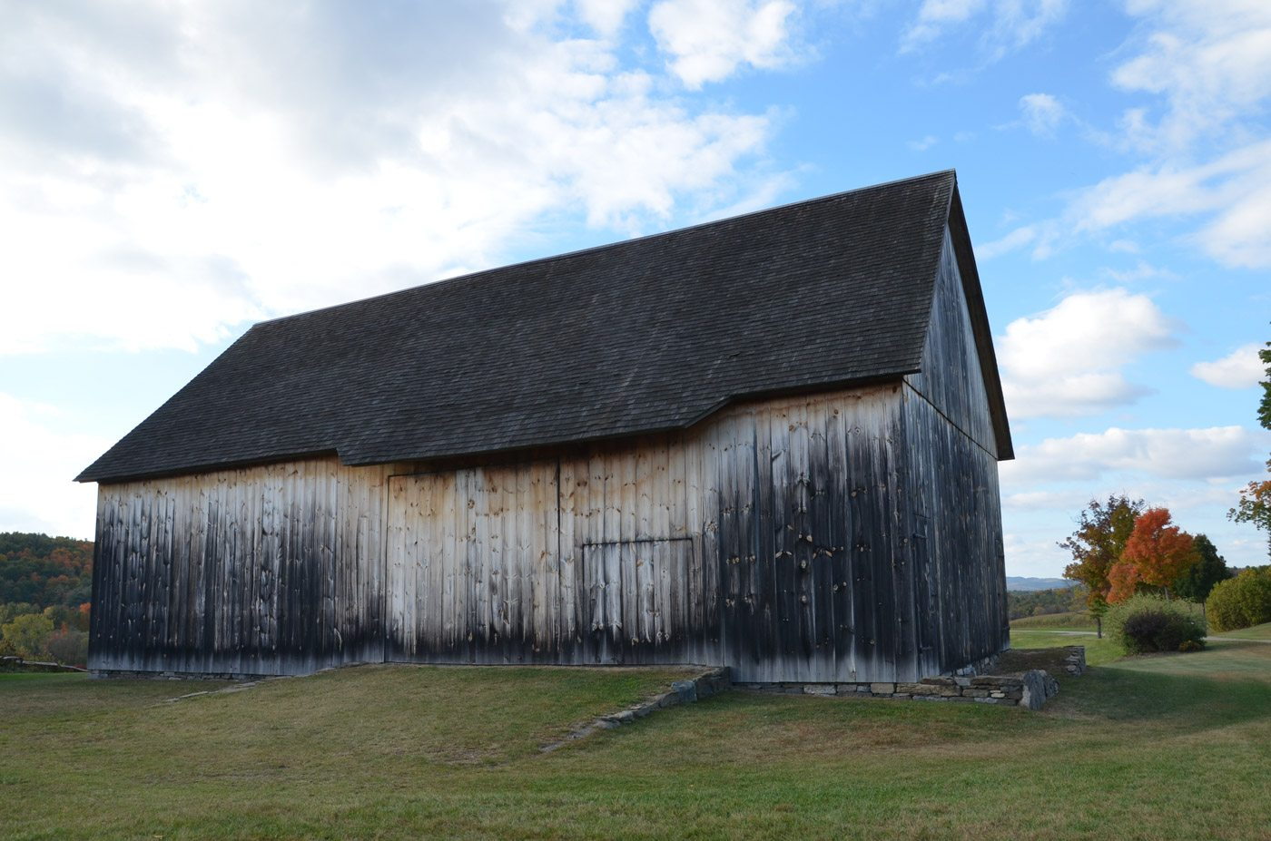 Scottish Barn at Historic Barns of Nipmoose, Photograph by Constance Kheel