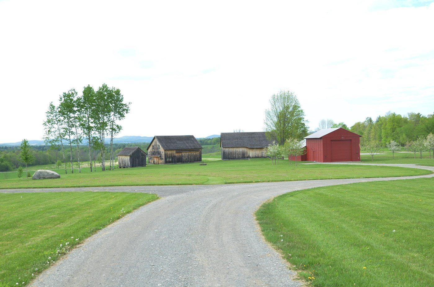 Workshop Barn at Historic Barns of Nipmoose, Photograph by Constance Kheel