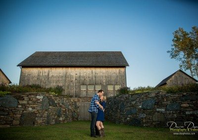 Historic Barns of Nipmoose Engagement, Dexter Davis Photography