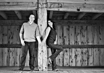 Historic Barns of Nipmoose Engagement, Elario Photography Inc