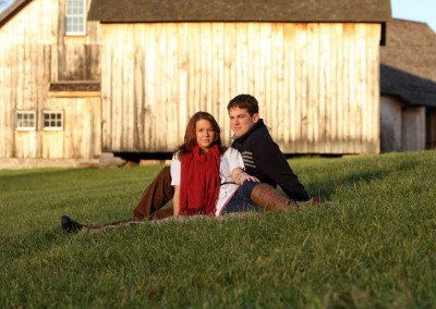 Historic Barns of Nipmoose Engagement, Christina Florada Photography