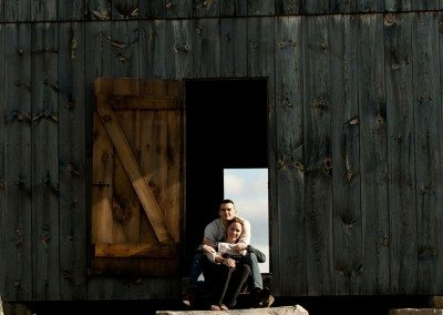Historic Barns of Nipmoose Engagement, Upstate Photographers