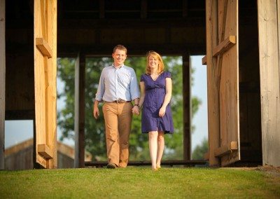 Historic Barns of Nipmoose Engagement, Clark and Walker Studio
