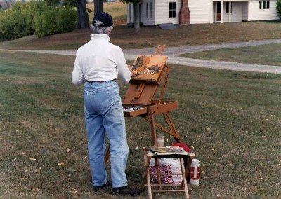 Landscape Painting Workshop at Historic Barns of Nipmoose, Sponsored by Agricultural Stewardship Association