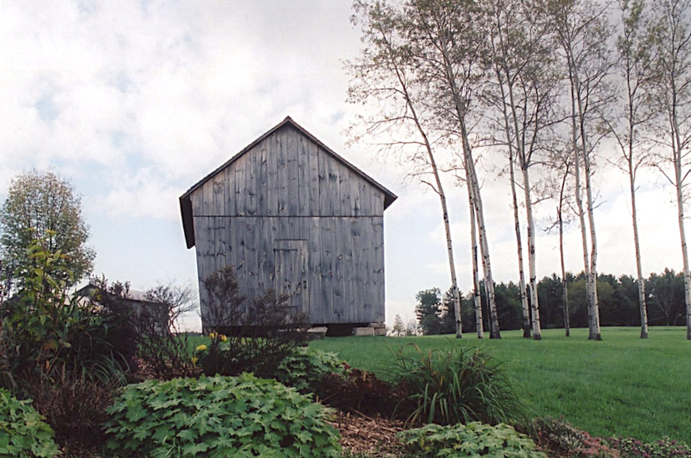 Corn Crib at Historic Barns of Nipmoose, Photograph by Constance