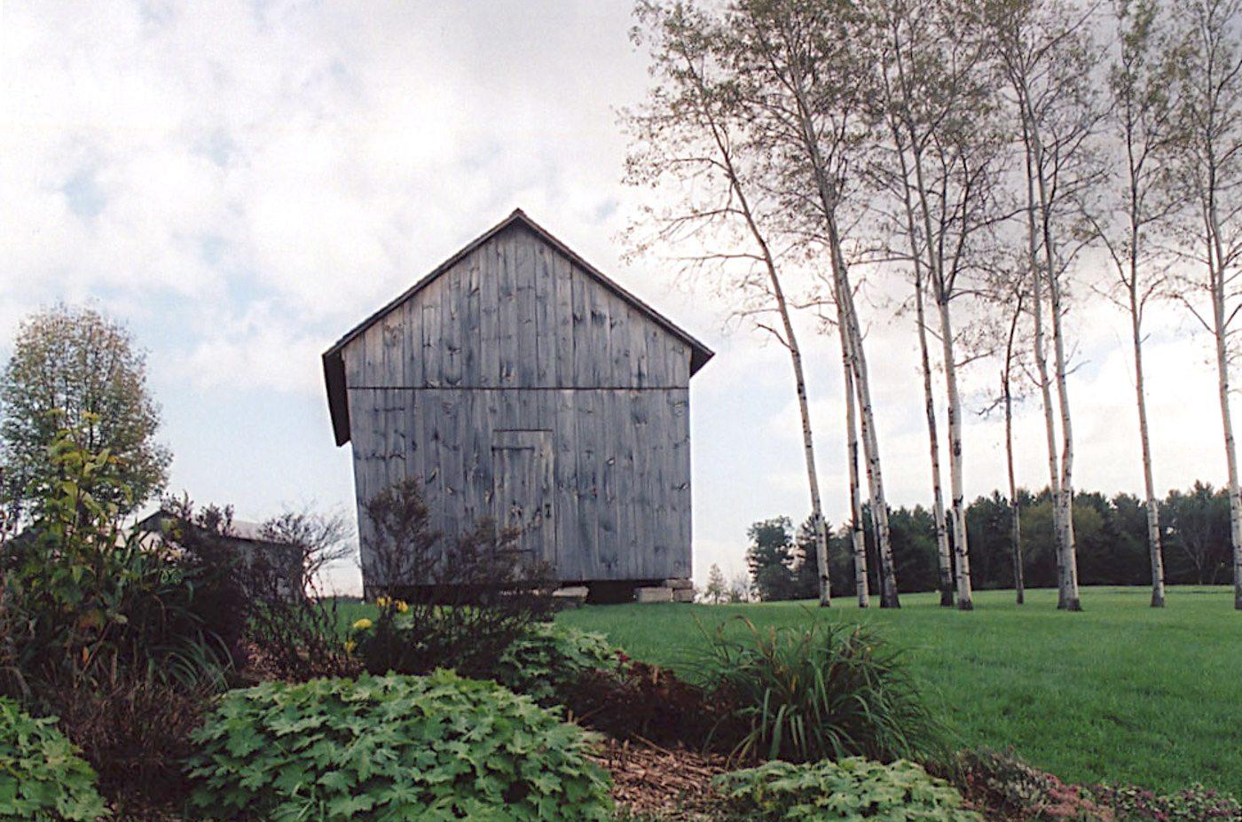 Corn Crib at Historic Barns of Nipmoose, Photograph by Constance
