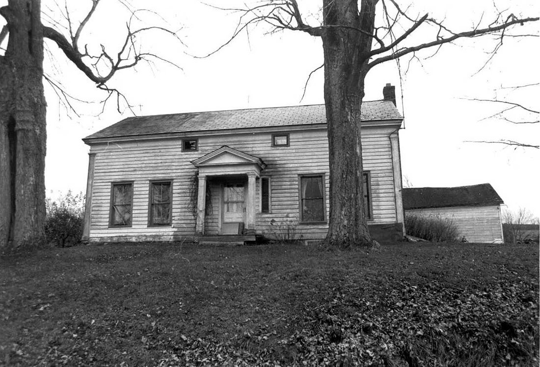 Farmhouse at Nipmoose Farm, 1989, Photograph by Dunja Von Stoddard