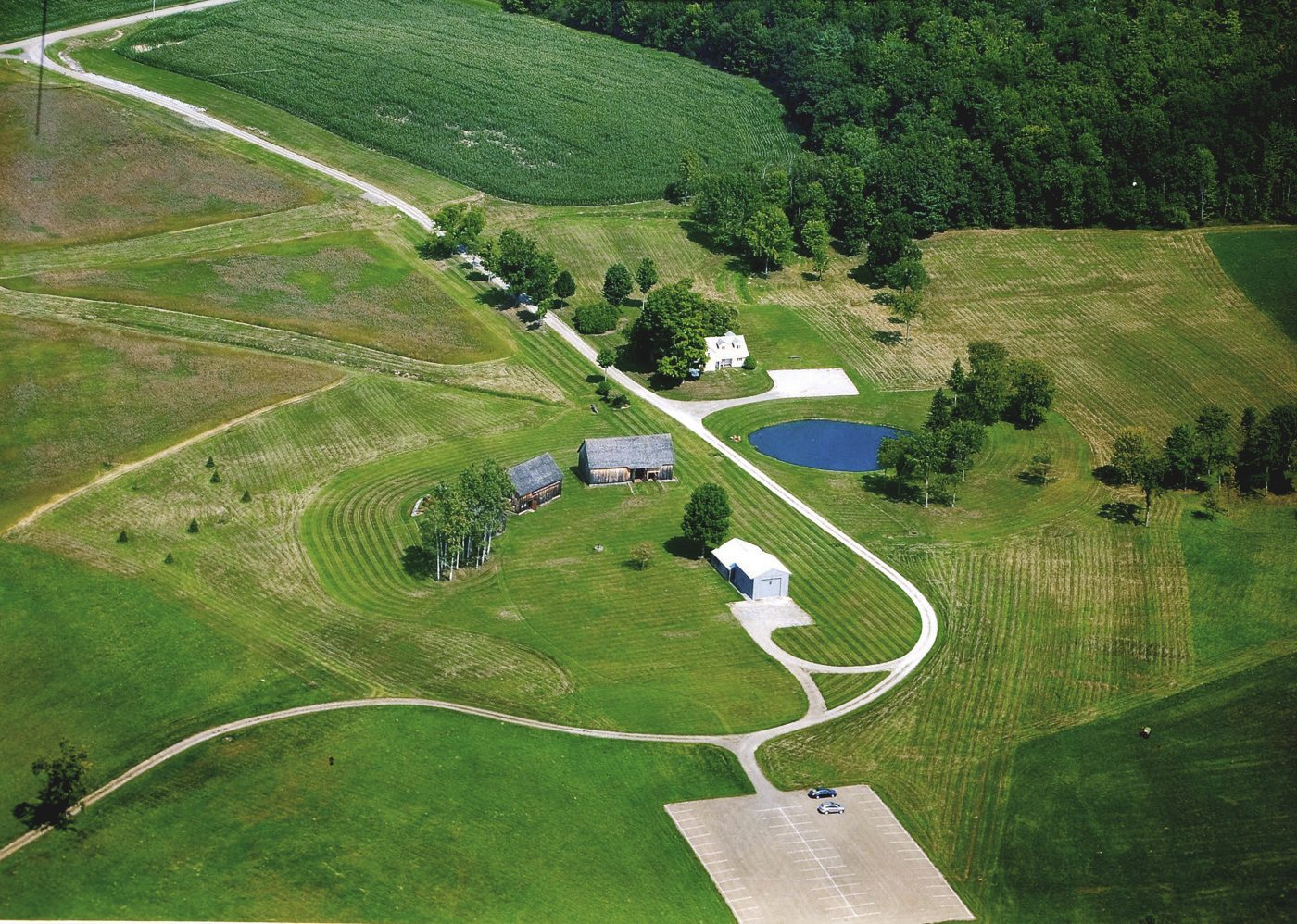 Aerial view of Nipmoose Farm, 2013, Photographer unknown
