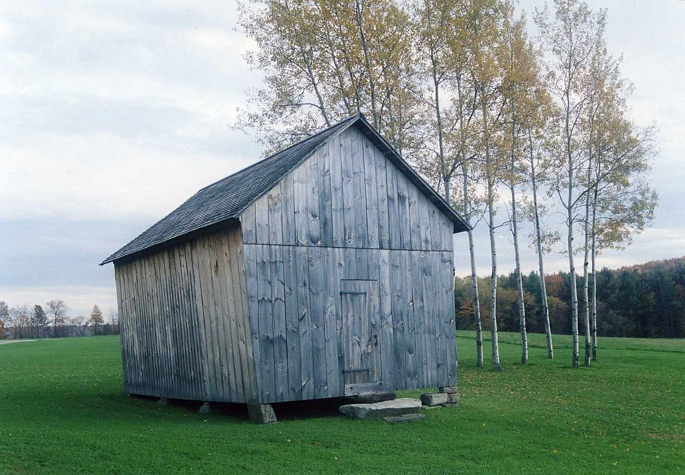 Corn Crib, 2008, Photograph by Constance Kheel
