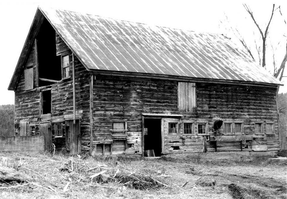 Before restoration, German Barn, 2000, Photograph by Constance Kheel