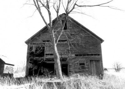 German Barn before restoration, 2000, Photograph by Constance Kheel