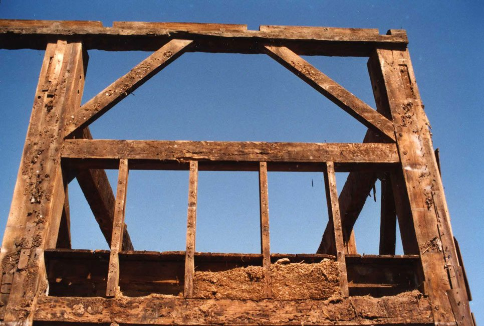 German Barn frame, 2000, Photograph by Constance Kheel