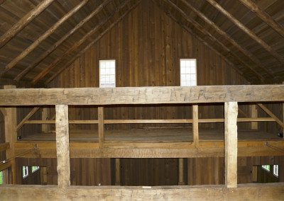 German Barn interior, Photograph by Constance Kheel