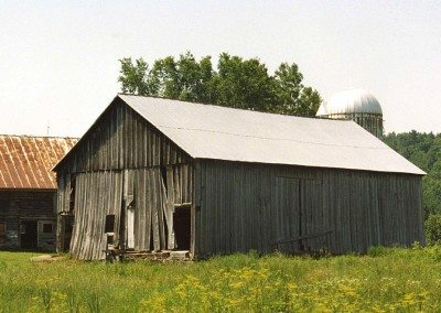Scottish Barn before restoration, 2000, Photograph by Constance Kheel