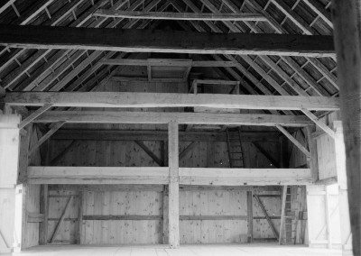 Scottish Barn interior, Photograph by Dunja Von Stoddard