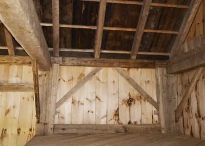 Scottish Barn interior, Photograph by Constance Kheel