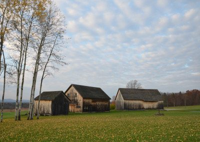 Autumn at Historic Barns of Nipmoose, Photograph by Constance Kheel