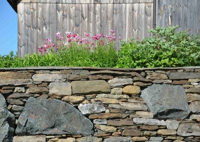 Garden in bloom at Historic Barns of Nipmoose, Photograph by Constance Kheel