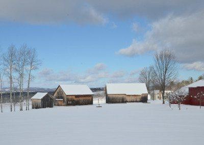 Winter at Historic Barns of Nipmoose, Photograph by Constance Kheel
