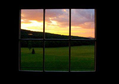 Sunset at Historic Barns of Nipmoose, Haynes Photography