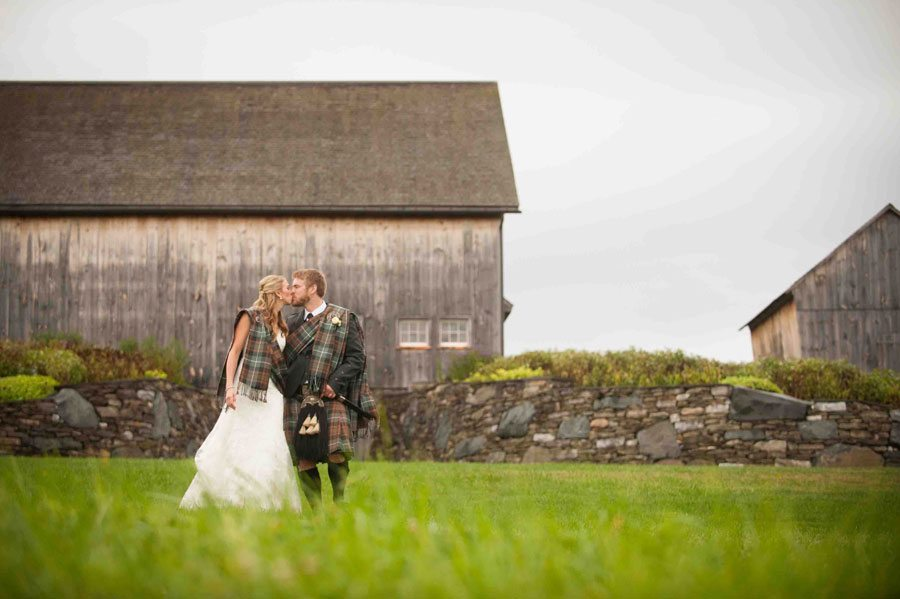 Wedding portrait in the field, Rob Spring Photography