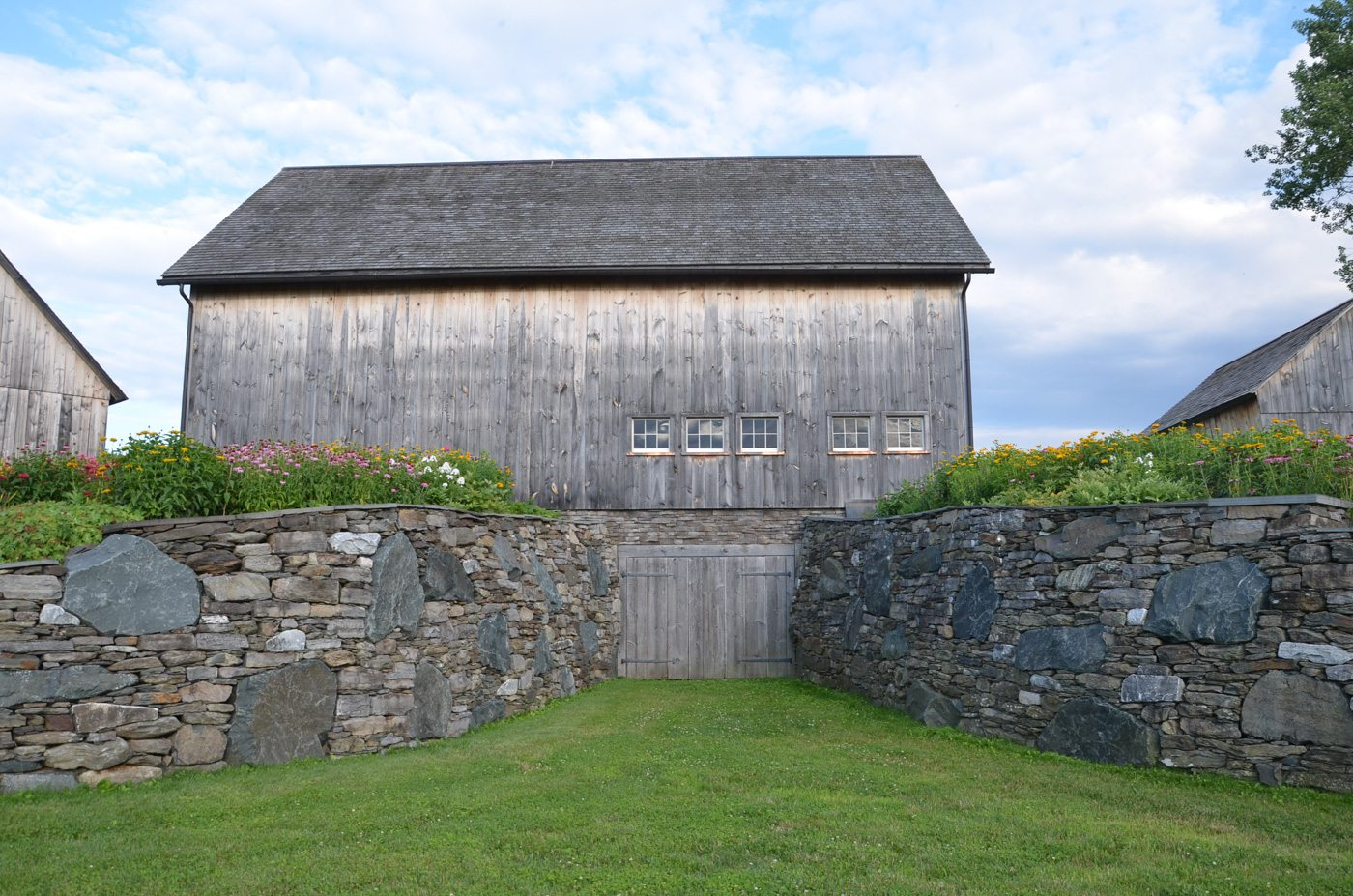 German Barn stone wall, 2014, Photograph by Constance Kheel