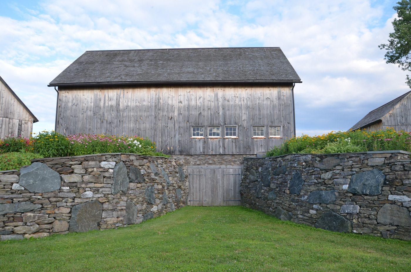 German Barn stone wall, 2014, Photograph by Constance Kheel