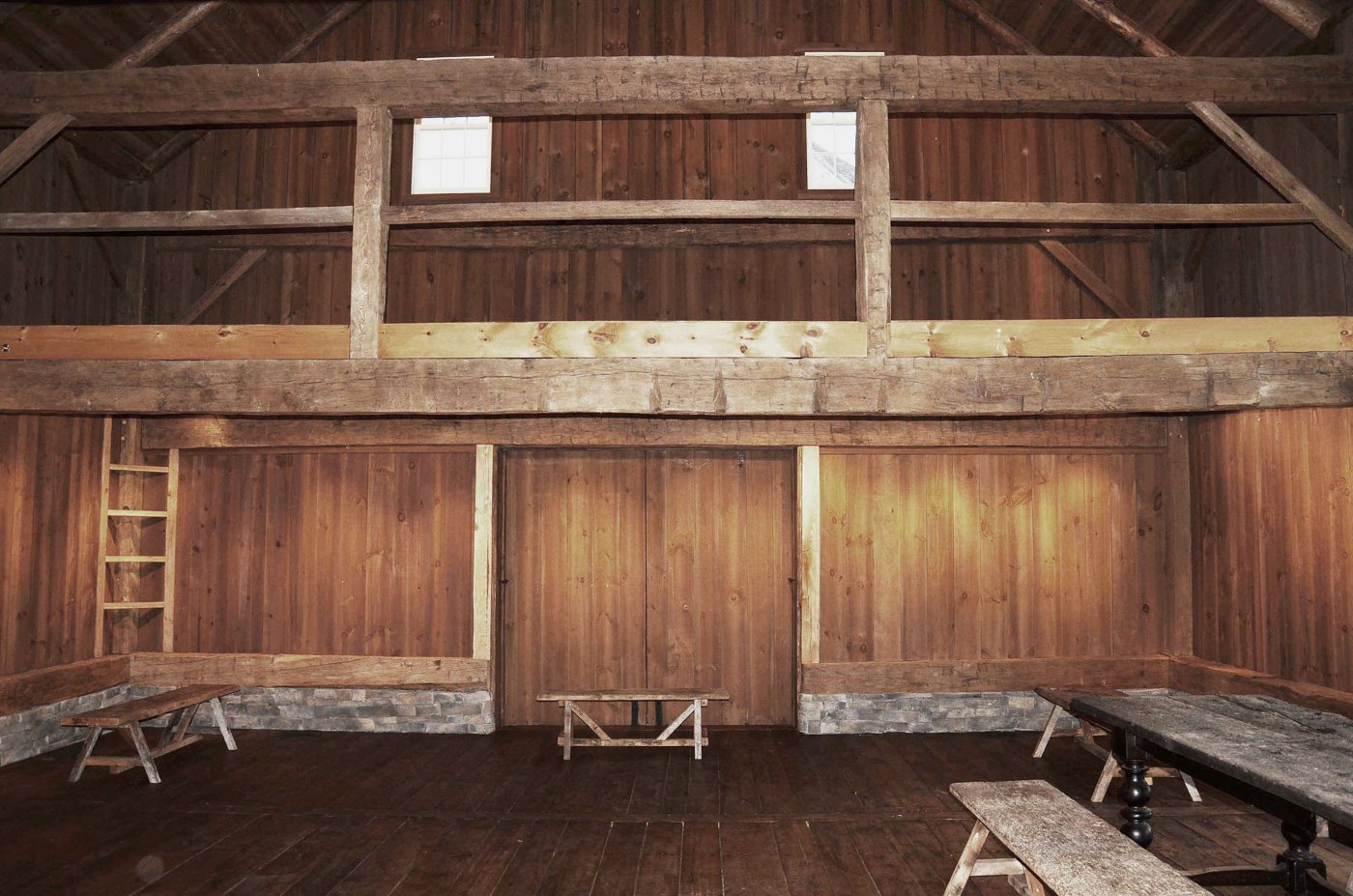 German Barn at Historic Barns of Nipmoose, Photograph by Constance Kheel