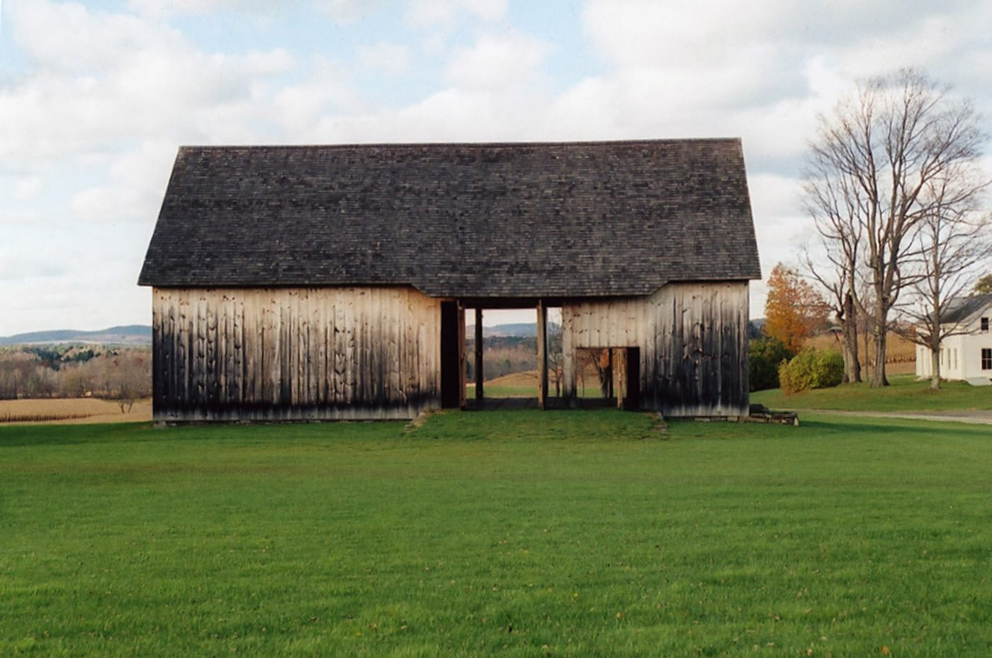 Scottish Barn at Historic Barns of Nipmoose, Photograph by Const