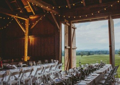 Historic Barns of Nipmoose Wedding, Photograph by Ro of Les Loups