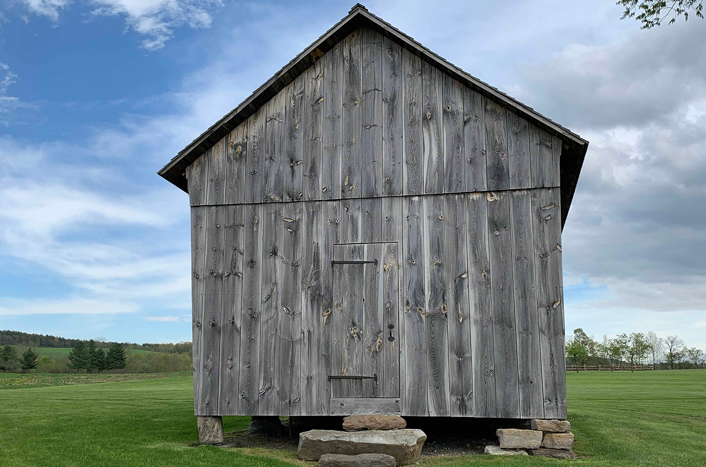 Corn Crib at Historic Barns of Nipmoose, Constance Kheel