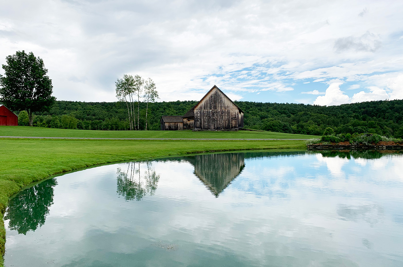 The grounds at Historic Barns of Nipmoose, Photograph by Constance Kheel
